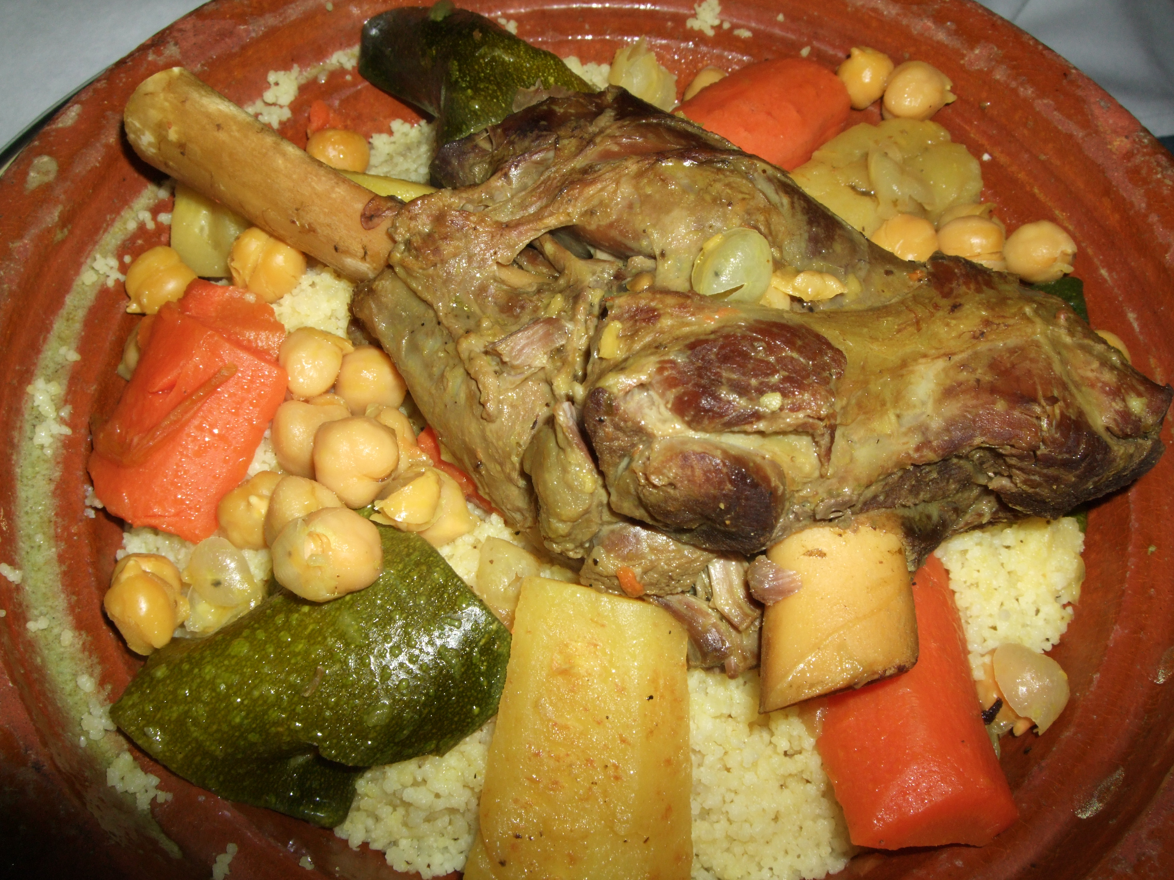 Image gallery morocco culture food for Authentic moroccan cuisine